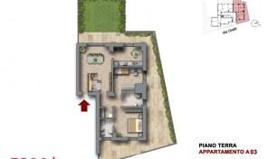 Bologna–Mazzini–Via Oretti–Nuovo Appartamento mq.116 (A3)