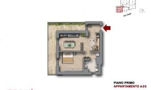 Bologna–Mazzini–Via Oretti–Nuovo Appartamento mq.74 (A5)