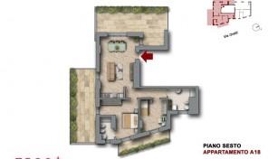 Bologna–Mazzini–Via Oretti–Nuovo Appartamento mq.129 (A18)