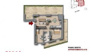 Bologna–Mazzini–Via Oretti–Nuovo Appartamento mq.113 (A19)