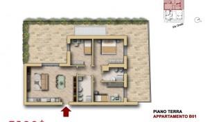 Bologna–Mazzini–Via Oretti–Nuovo Appartamento mq.123 (B1)
