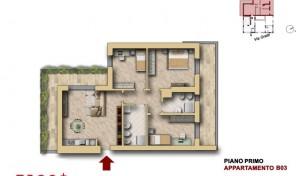Bologna–Mazzini–Via Oretti–Nuovo Appartamento mq.123 (B3)