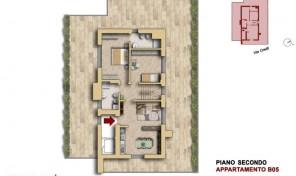 Bologna–Mazzini–Via Oretti–Nuovo Attico di mq.133 (B5)