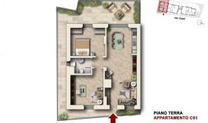 Bologna–Mazzini–Via Oretti–Nuovo Appartamento mq.105 (C1)