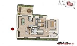 Bologna–Mazzini–Via Oretti–Nuovo Appartamento mq.122 (C3)
