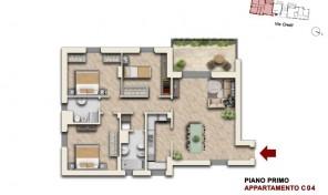 Bologna–Mazzini–Via Oretti–Nuovo Appartamento mq.140 (C4)