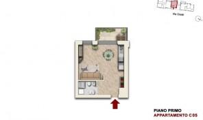 Bologna–Mazzini–Via Oretti–Nuovo Appartamento mq.46 (C5)