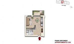Bologna–Mazzini–Via Oretti–Nuovo Appartamento mq.46 (C8)