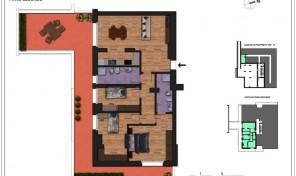Bologna–Massarenti–Via Spiraglio–Nuovo Appartamento mq.138 (A10)