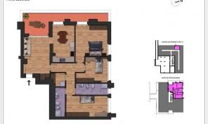 Bologna–Massarenti–Via Spiraglio–Nuovo Appartamento mq.145 (A12)