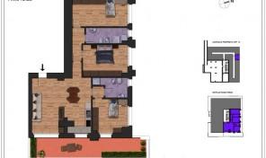 Bologna–Massarenti–Via Spiraglio–Nuovo Appartamento mq.122 (A13)