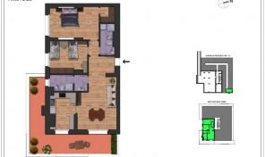 Bologna–Massarenti–Via Spiraglio–Nuovo Appartamento mq.122 (A14)