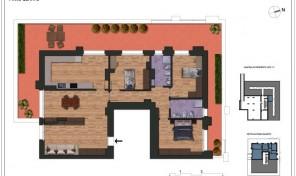 Bologna–Massarenti–Via Spiraglio–Nuovo Appartamento mq.177 (A17)