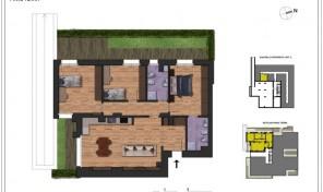 Bologna–Massarenti–Via Spiraglio–Nuovo Appartamento mq.127 (A3)