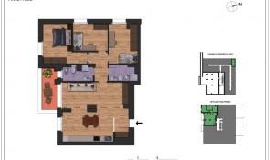 Bologna–Massarenti–Via Spiraglio–Nuovo Appartamento mq.124 (A7)