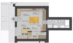Bologna–Mazzini–Via Emilia Levante–Nuovo Appartamento mq.42 (M4)