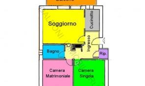Casalecchio di Reno – Ceretolo appartamento di mq. 74