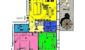 Casalecchio di Reno, Quartiere Croce, Nuovo Appartamento Mq.101 (A7)