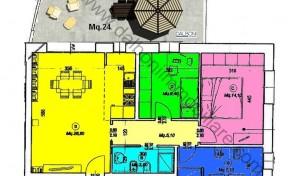 Casalecchio di Reno, Quartiere Croce, Nuovo Appartamento mq.116 (B8)