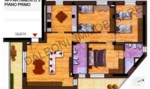 Bologna Via Spiraglio nuovo appartamento Mq.146 (Spi 03)