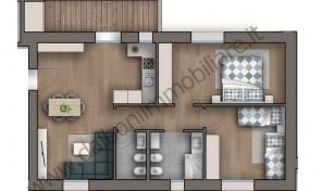 Appartamento di Nuova Costruzione mq.82 – Zola Predosa (8)
