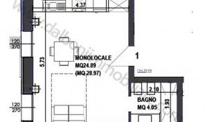 Appartamento nuovo in vendita Via Indipendenza Bologna