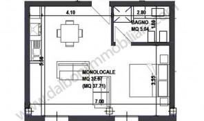 Appartamento Nuovo in vendita Via Indipendenza–Bologna-Ultimo Piano con Terrazzo Abitabile
