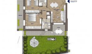 Trilocale nuovo con giardino privato, Anzola Dell'Emilia (A1)