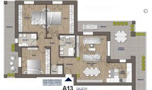 Attico nuovo con terrazzo abitabile, Anzola Dell'Emilia (A13)