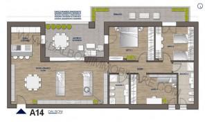 Attico nuovo con terrazzo abitabile, Anzola Dell'Emilia (A14)