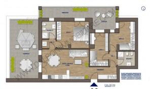 Quadrilocale nuovo con giardino/terrazzo privato, Anzola Dell'Emilia (A2)