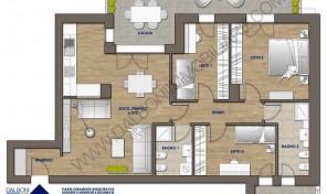 Quadrilocale nuovo con giardino/terrazzo privato, Anzola Dell'Emilia (A3)