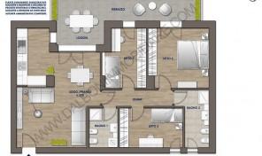 Quadrilocale nuovo con terrazzo abitabile, Anzola Dell'Emilia (A7)