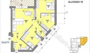 Quadrilocale Nuovo Bologna, San Vitale, Massarenti (A18)