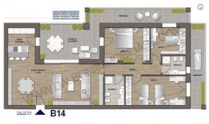 Attico nuovo con terrazzo abitabile, Anzola Dell'Emilia (B14)