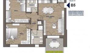 Trilocale nuovo con terrazzo abitabile, Anzola Dell'Emilia (B5)