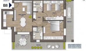 Trilocale nuovo con terrazzo abitabile, Anzola Dell'Emilia (B8)