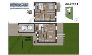 Villetta a Schiera, Nuova costruzione,Anzola dell'Emilia (VIL 1)