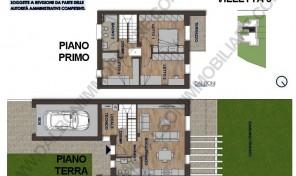 Villetta a Schiera di Nuova costruzione, Anzola dell'Emilia (VIL 3)