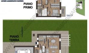 Villetta a Schiera di Nuova costruzione, Anzola dell'Emilia (VIL 4)