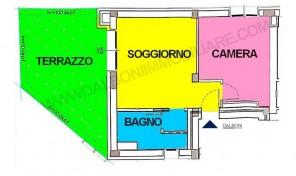 Attico Bilocale Nuovo Bologna, San Vitale, Massarenti (A26)